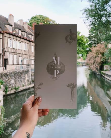 Restaurant : Le Moulin de Ponceau  - Carte et vue -   © Le moulin de ponceau