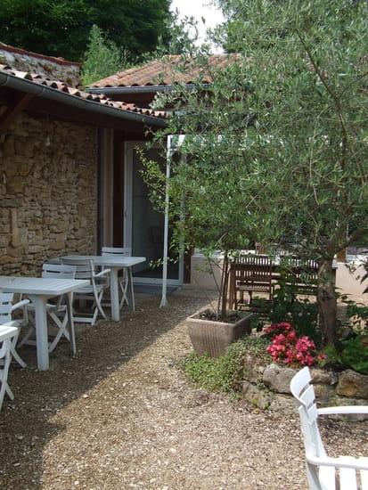 Restaurant la Ciboulette  - Le jardin -