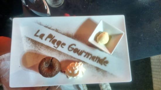 Dessert : La Plage Gourmande  - Tout est dit dans la photo  -