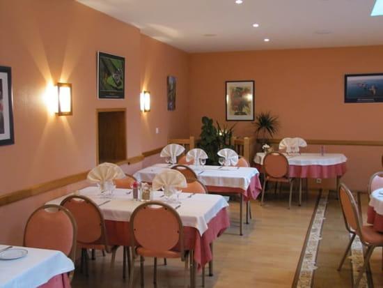 Le Sénéchal - Restaurant gastronomique  - La salle saumon -   © Thierry Thomas