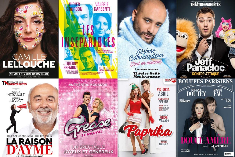 Cafe Theatre Paris Janvier
