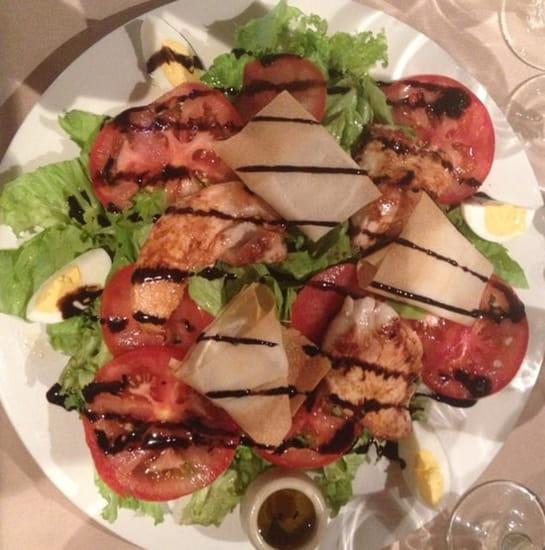 Plat : Le Bistrot des Toqués  - Salade des Toqués : extra !!!! -