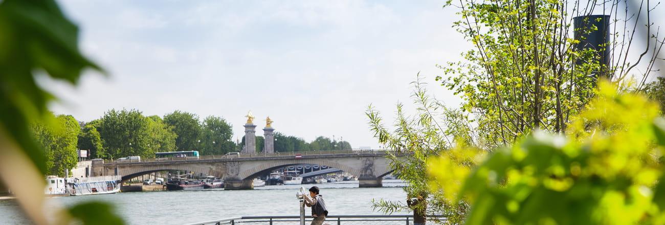 Des vacances à Paris au fil de l'eau