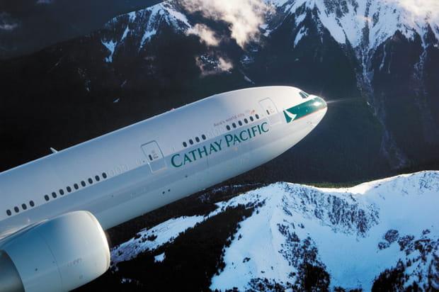 N°7ex-aequo: Cathay Pacific