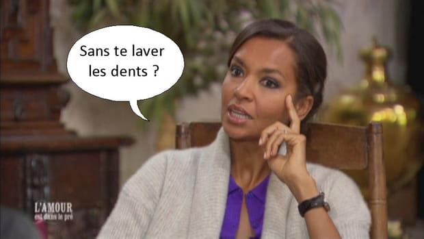 Karine Le Marchand et l'hygiène bucco-dentaire