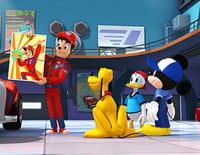 Mickey et ses amis : top départ ! : La voiture de collection. - Lumière... Caméra... A l'aide