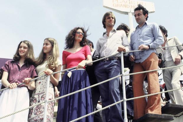 Brooke Shields, Susan Sarandon et Louis Malle en 1978