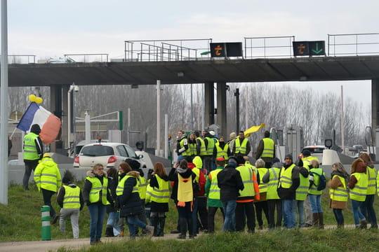 Gilets jaunes: les blocages routiers ce dimanche 20janvier 2018