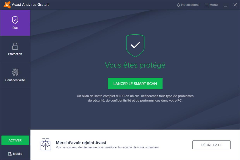Avast antivirus gratuit un antivirus qui a fait ses preuves for Ses gratuit