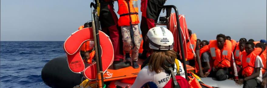 Méditerranée: 85migrants sur l'Ocean Viking, Richard Gere sur l'Open Arms