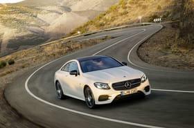 La Mercedes Classe E Coupé en images