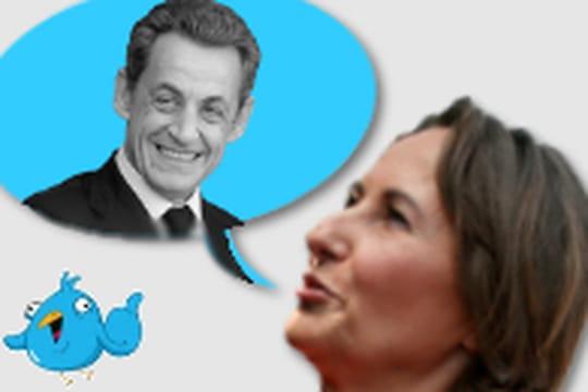 Ségolène Royal se lâche sur Twitter contre Sarkozy