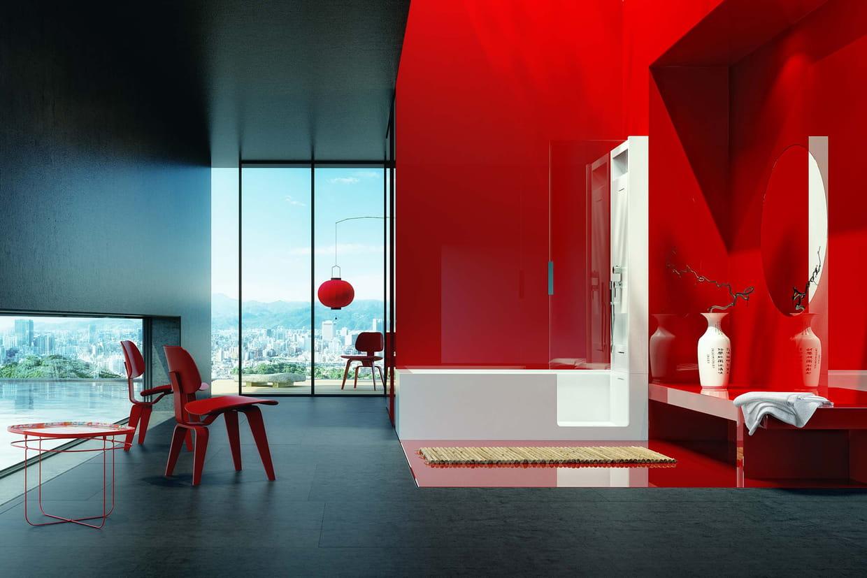Une baignoire dans son salon - Rever de salle de bain ...