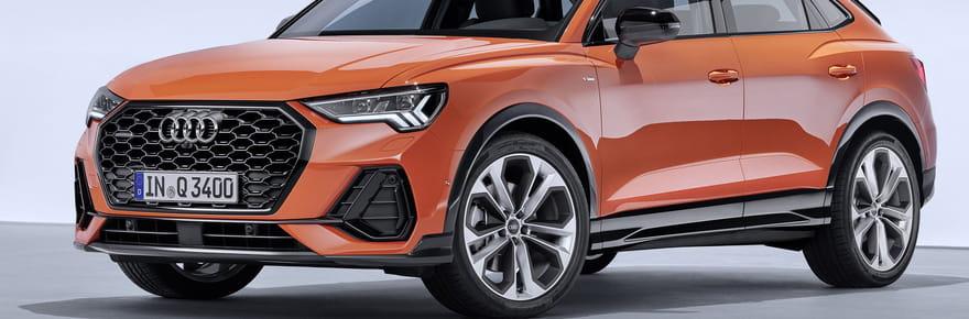 Audi Q3: une version coupé Sportback lancée à l'automne [photos, infos]