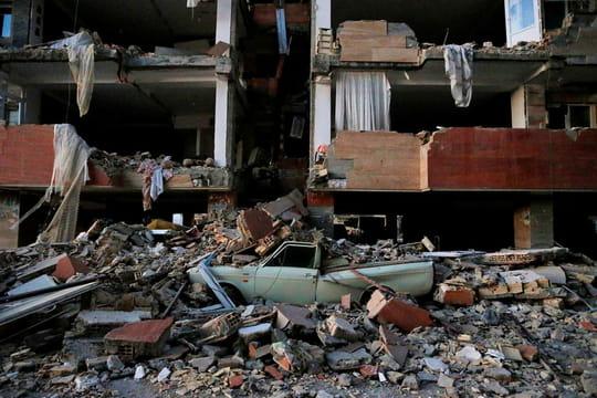 Séisme en Iran / Irak [photos]: le chaos après le tremblement de terre