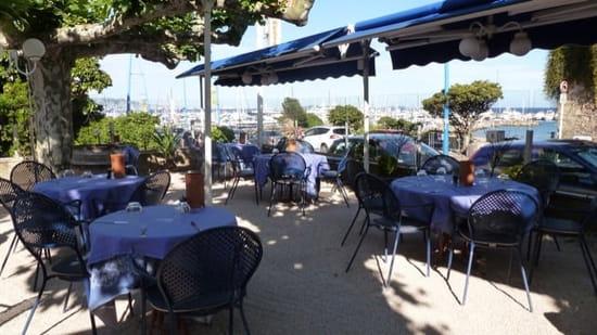 Restaurant : La Calanque  - Terrasse avec vue sur la baie de CANNES -