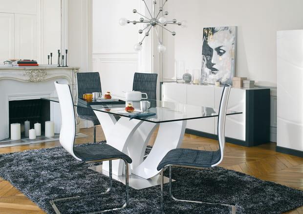 Un salon chic et moderne