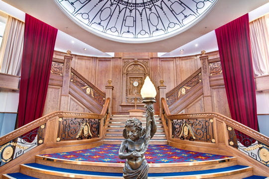 Visitez le Titanic avant le naufrage
