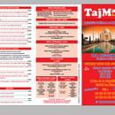 , Plat : Bar Restaurant Taj Mahal   © Menu