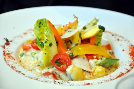 La Bastide Odéon  - Risotto aux légumes croquants -   © Bastideodeon