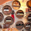 Bouchon Lyonnais Chez Louise  - Cave du restaurant Chez Louise -   © Com Impact