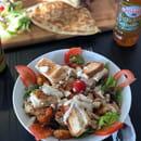 Plat : La Fine Bouche  - Salade caesar -   © La Fine Bouche
