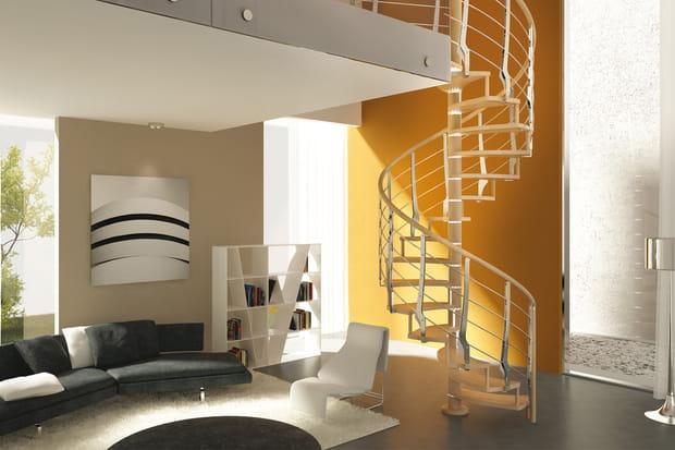 Un escalier innovant en colimaçon