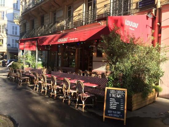 Loulou Friendly diner  - terrasse ensoleillée -   © loulou