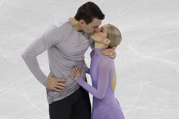 Alexa Scimeca Knierim et Chris Knierim