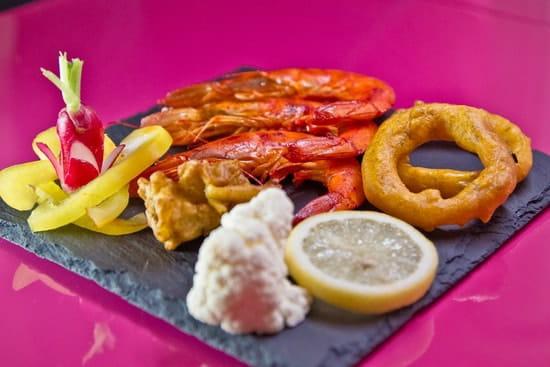 Restaurant indien Shalimar  - Gambas Tandoori -   © Fidel Hernandes