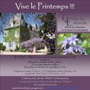 Le Château de Lalande  - Vive le printemps!!! -