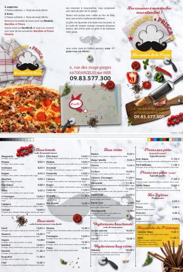 Restaurant : Maryline & Prisca  - Flyer Maryline et Prisca -   © Maryline & Prisca