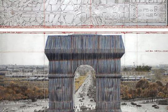 Arc de Triomphe: l'empaquetage de Christo reporté à l'automne 2021