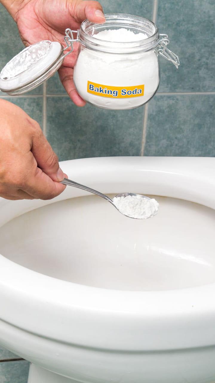 Nettoyer Lunette Toilettes Vinaigre Blanc blanchir la lunette des wc