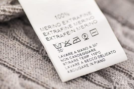 Connaître les symboles des étiquettes des vêtements