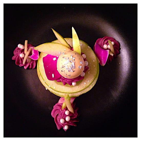Dessert : Les Bistrottines  - La Pomme Gourmande -   © Les Bistrottines
