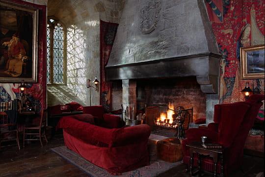 La salle commune de Gryffondor