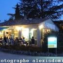 La P'tite Rome  - Vu depuis le parking du restaurant et de sa Terrasse -   ©  Alexis Dominiak