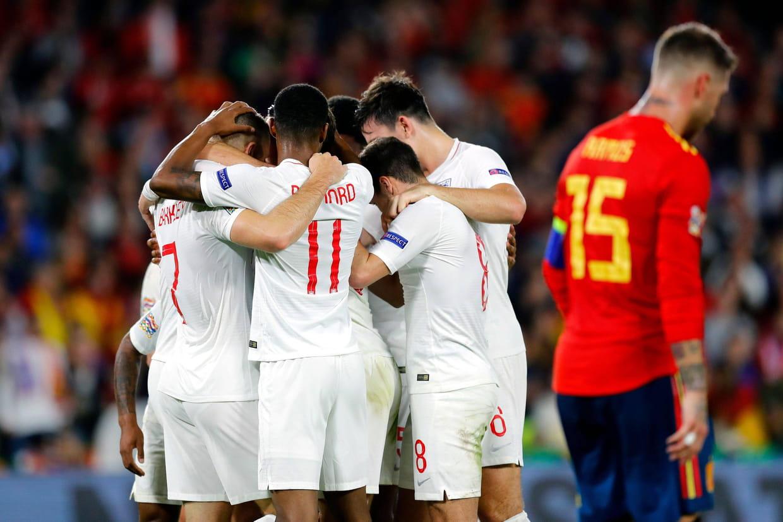 Espagne Angleterre Les Anglais S Imposent Le Resume Du Match