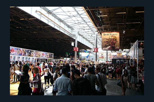 Cosplays et mangas à la Japan Expo