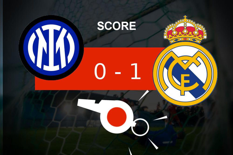 Inter - Real Madrid: le Real Madrid remporte la victoire, ce qu'il faut retenir