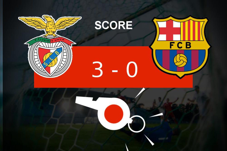Benfica - Barça: jolie opération pour le Benfica Lisbonne (3-0), ce qu'il faut retenir