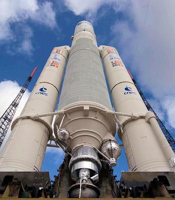 la fusée ariane est le fleuron de la technologie aérospatiale européenne.