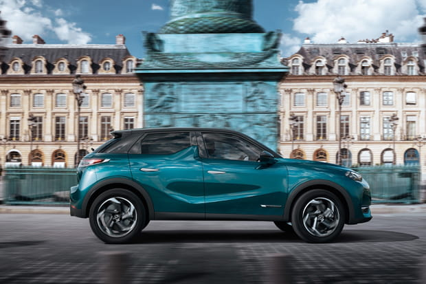 Le DS3 Crossback s'inspire de Paris