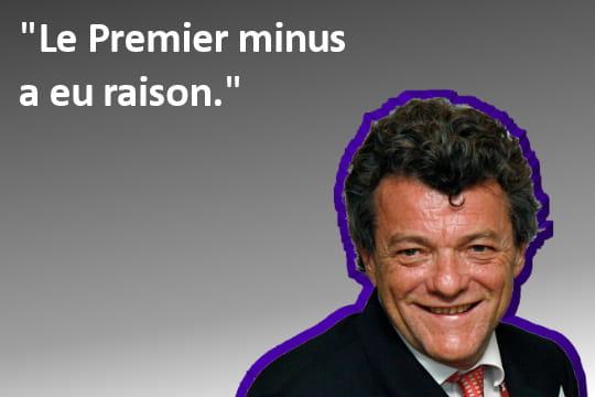 Jean-Louis Borloo, Premier minus