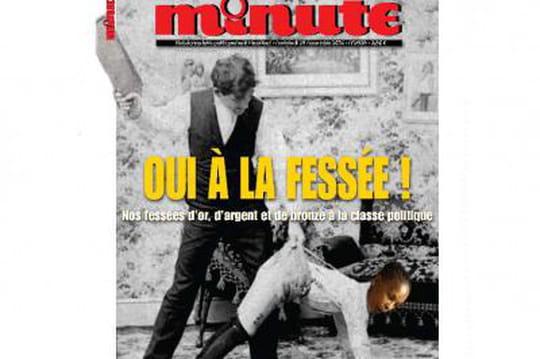 Christiane Taubira: Minute donne lafessée àlaministre de la Justice