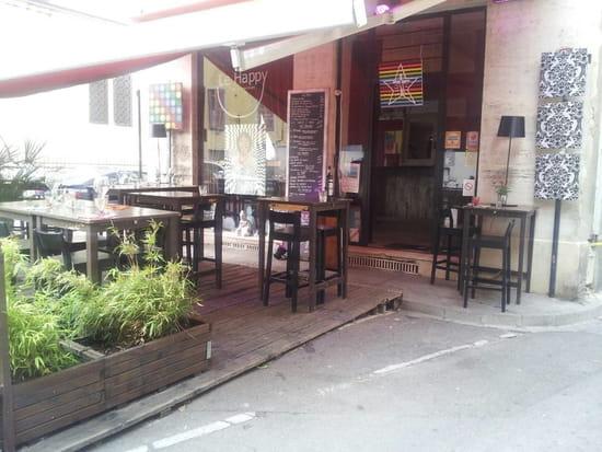 Le Happy  - La terrasse du restaurant -