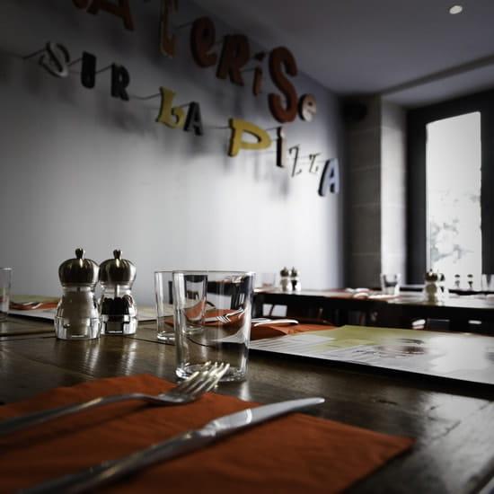 La Cerise sur la Pizza - Belleville  - La Cerise sur la Pizza - décoration -   © La Cerise sur la Pizza