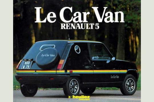 La Renault 5type van américain