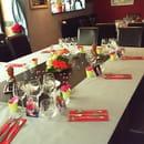 Restaurant le 107  - mise en place groupe -